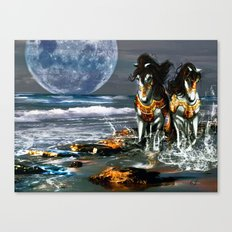 TWO IN ONE SHADOW Canvas Print