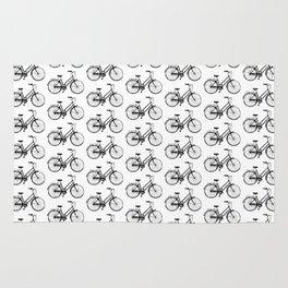 Vintage Bicycles Rug