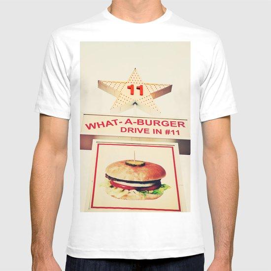 What A Burger T-shirt