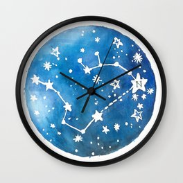 Big Dipper Love Wall Clock