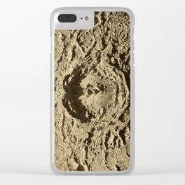 Astronomy for the Use of Schools and Academies (1882) - Copernicus, a Lunar Crater Clear iPhone Case