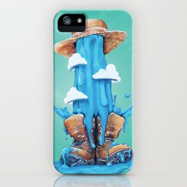 Intrusive Sky iPhone Case