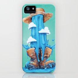 Intrusive Sky iPhone Case