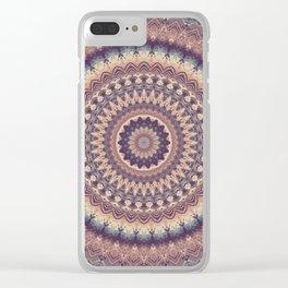 Mandala 512 Clear iPhone Case