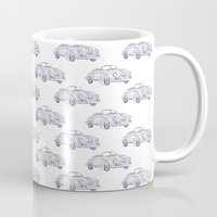 porsche Mugs featuring Porsche by Kara Ashley Shreeve