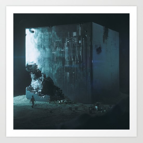 DECAY BOX (everyday 01.12.16) Art Print