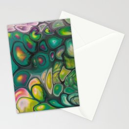 Fluid Color Stationery Cards