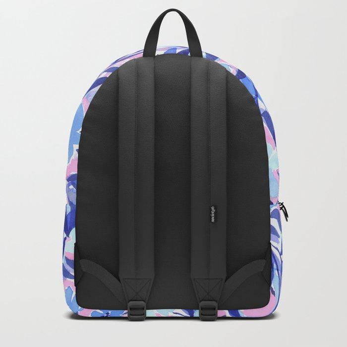 Nonchalant Blue Backpack