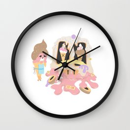 Oh what a world! Wall Clock
