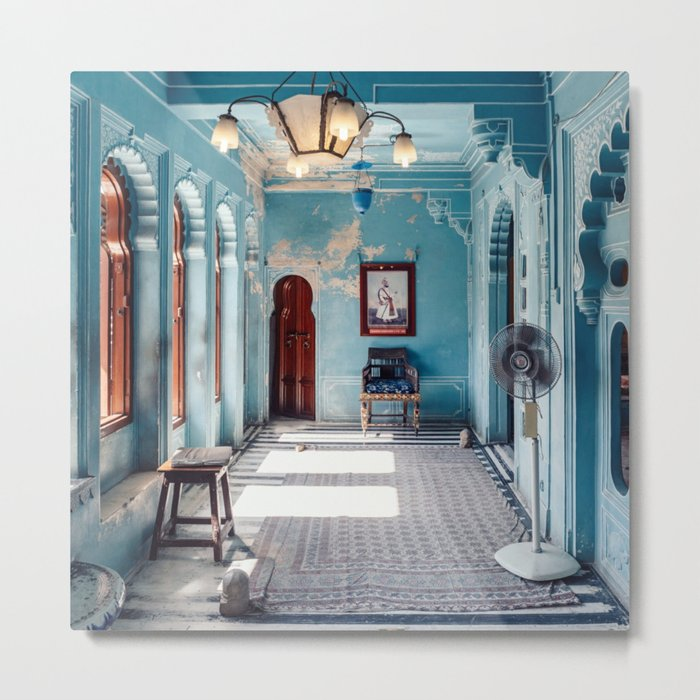 The Blue Room Metal Print