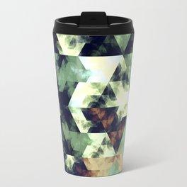 Green Hex Travel Mug