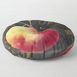 Melange Peach Floor Pillow