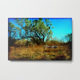 All That's Left Metal Print