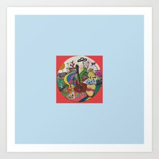 CANICA 9 Art Print
