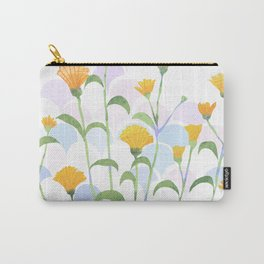 Wet Summer Flowers Carry-All Pouch