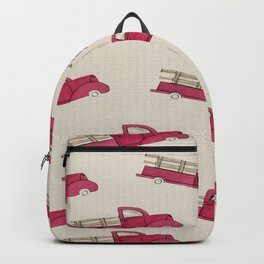 Old Red Truck Backpack