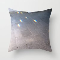oslo Throw Pillows featuring Oslo by Karoline Sætre