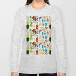 Rainbow Microbes Long Sleeve T-shirt