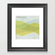 Jazz Revival Collection - Waves Framed Art Print