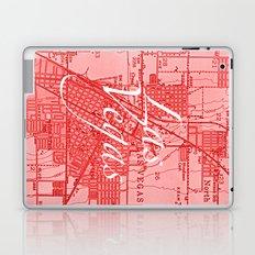 Vintage Las Vegas Red Laptop & iPad Skin