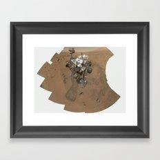 NASA Mars Curiosity's 'Rocknest' Workplace High definition Print Framed Art Print