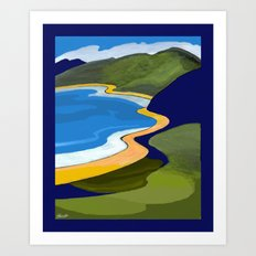 Beach Coast Art Print