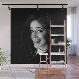 Camila Cabello Digital Painting #1 Wall Mural