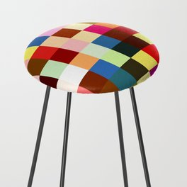 checkered times Counter Stool