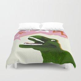 Dinosaur Raw! Duvet Cover