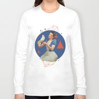 dorothy Long Sleeve T-shirts featuring Dorothy by Cut and Paste Lady