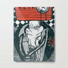 Hush Metal Print