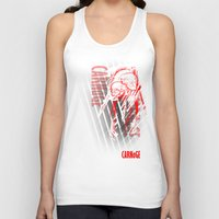 carnage Tank Tops featuring CARNaGE by Psychojoe151