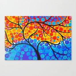 Tree of Life Rainbow Canvas Print