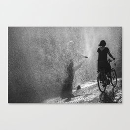 Too much sunshine Canvas Print