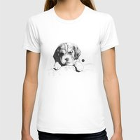 puppy T-shirts featuring Puppy by Nuria Galceran
