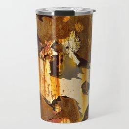 Paint on rust Travel Mug