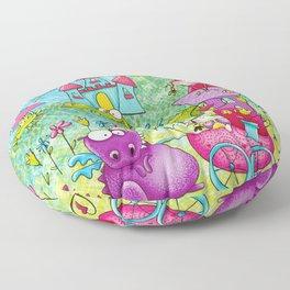 Fairy Princess Kingdom Floor Pillow