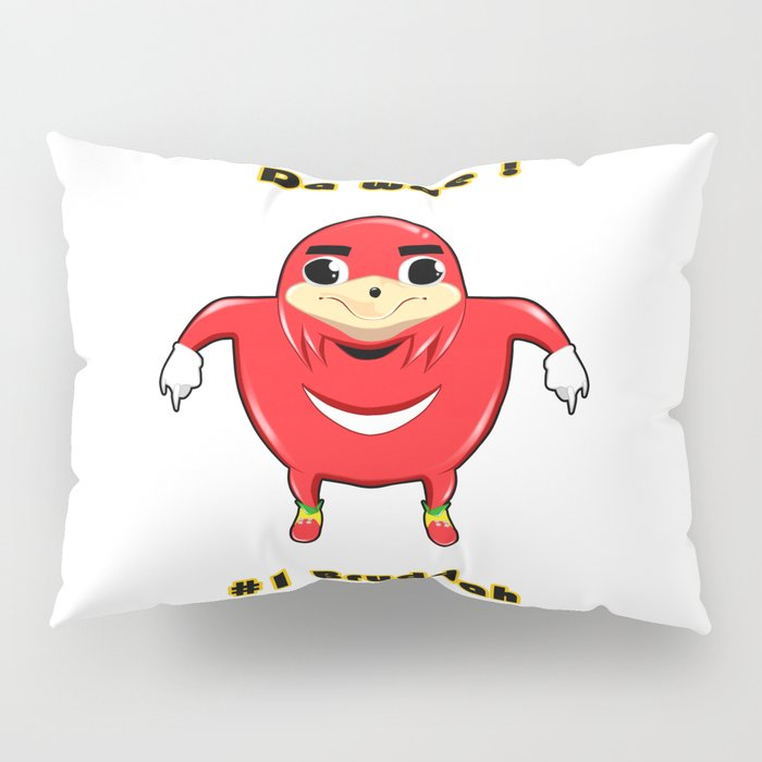 Uganda Knuckles Pillow Sham