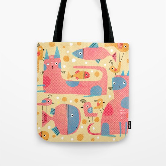 ALL-OVER WITH BUBBLES Tote Bag