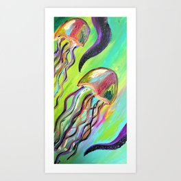 jellyfish Art Print