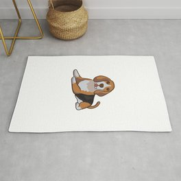 Beagle cute dog dog Rug