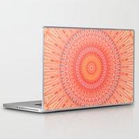 health Laptop & iPad Skins featuring Mandala mental health by Christine baessler