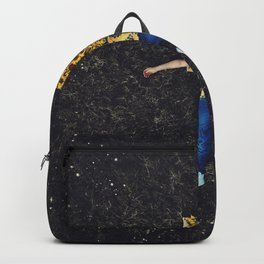 Half Way To Yellow Backpack