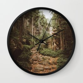 Table Mountains - Landscape and Nature Photography Wall Clock