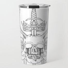 Crown n' Skull Travel Mug
