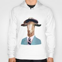 goat Hoodies featuring Goat by Animal Crew