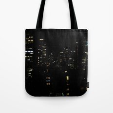1 city night Tote Bag