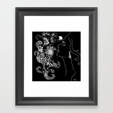 Voice like Honey Framed Art Print