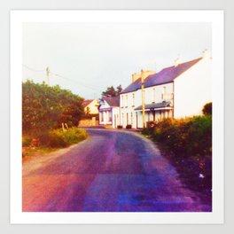 Irish Road Art Print