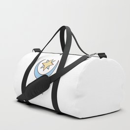 Cute Dungeons and Dragons Cleric class Duffle Bag